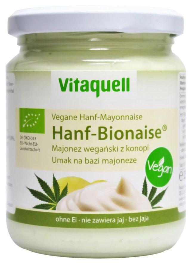 Majonez Konopny Bio 250ml Vitaquell