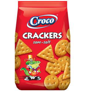 Croco Crackers Salt - Krakersy Solone