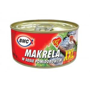 Bmc Makrela W Sosie Pomidorowym Xxl