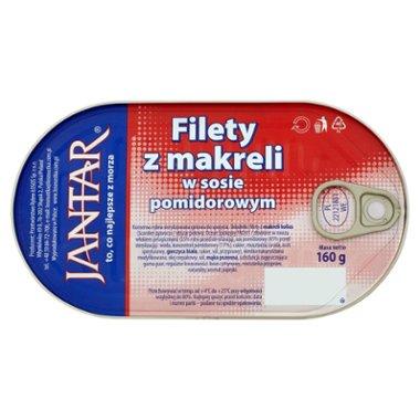 Jantar Filety z makreli w sosie pomidorowym