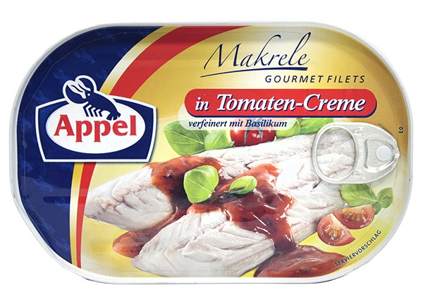 Filety Appel z makreli w kremie pomidorowy