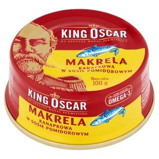 King Oscar Makrela kanapkowa w sosie pomidorowym
