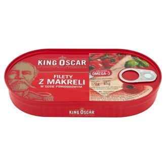 King Oscar Filety z makreli w sosie pomidorowym