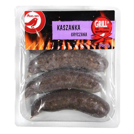 Produkt marki Auchan - Kaszanka gryczana