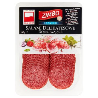 Zimbo Premium Salami dojrzewające delikatesowe