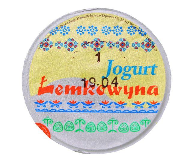 Łemkowyna Bio Jogurt Naturalny