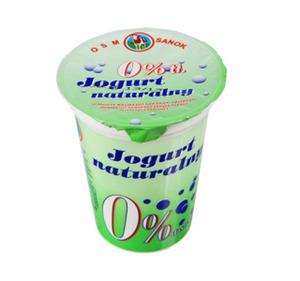 Sanok, jogurt naturalny 0% tł.