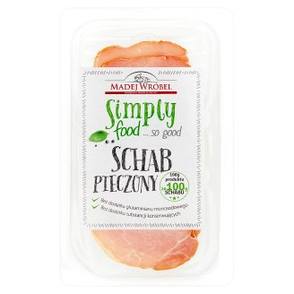 Madej Wróbel Simply food... so good Schab pieczony