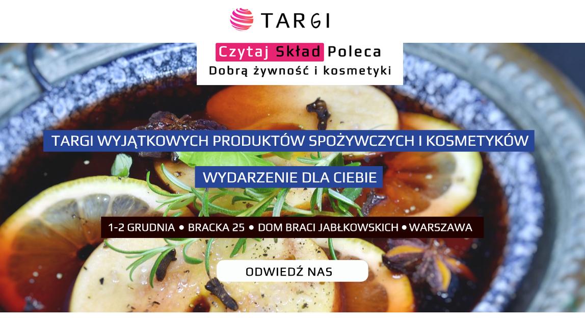 Targi Czytaj Skład 1-2 grudnia Warszawa Bracka 25