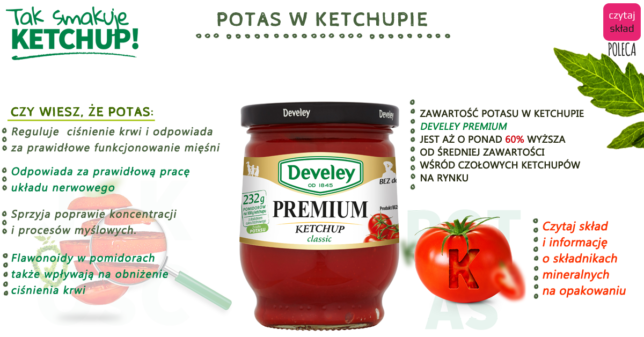 Develey ketchup premium