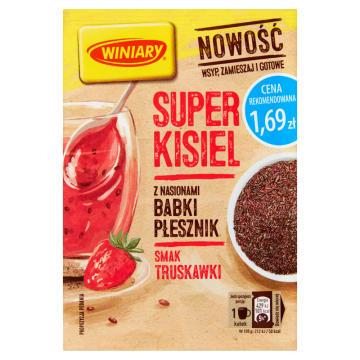WINIARY Super Kisiel Truskawkowy z Babką Płesznik