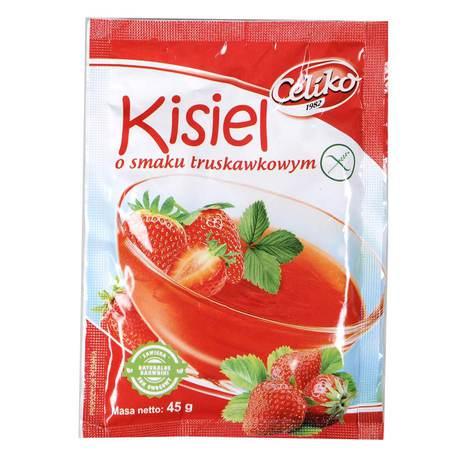 Celiko - Kisiel o smaku truskawkowym bezglutenowy