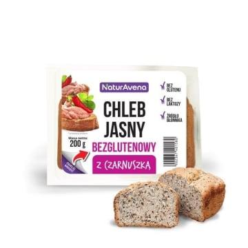 NATURAVENA Chleb jasny bezglutenowy z czarnuszką