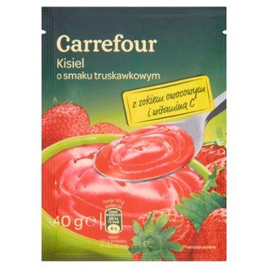 Carrefour Kisiel o smaku truskawkowym
