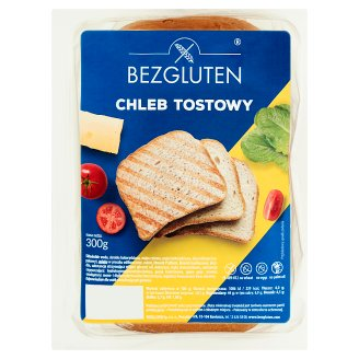 Bezgluten Chleb tostowy