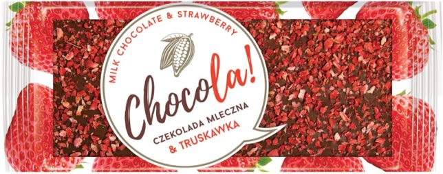 Terravita Chocola! Czekolada mleczna & truskawka