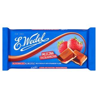 E. Wedel Czekolada mleczna truskawkowa
