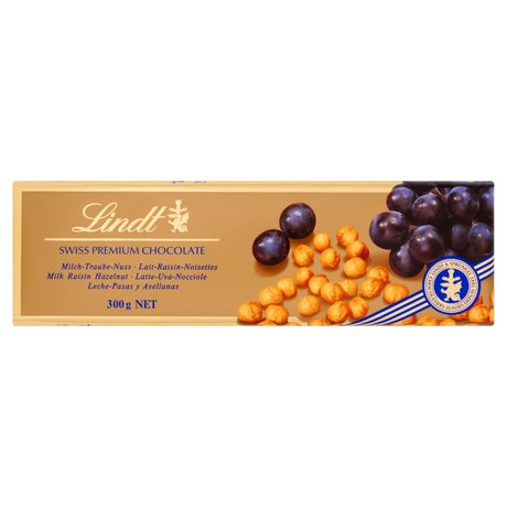 Lindt - Czekolada milk grape gold