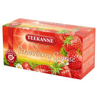 Teekanne World of Fruits Strawberry Sunrise Mieszanka herbatek owocowych