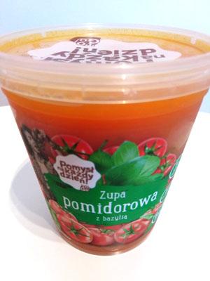 Pomysł na każdy dzień, Zupa pomidorowa z bazylią (Lidl)