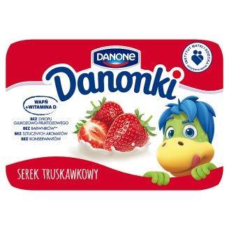 Danone Danonki Serek truskawkowy