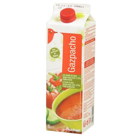 Auchan - Gazpacho zupa wielowarzywna z oliwą z oliwek