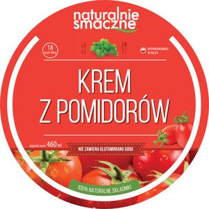 Naturalnie Smaczne Krem Z Pomidorów - Zupa