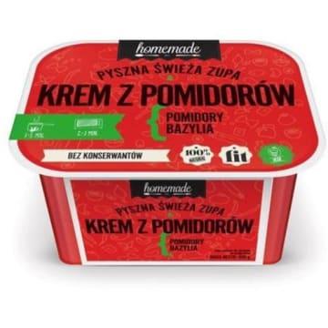 HOMEMADE Zupa krem z pomidorów z bazylią