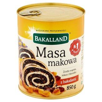 Bakalland Masa makowa z bakaliami