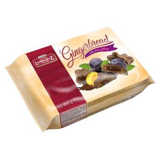 Lambertz Pierniki w czekoladzie z nadzieniem śliwkowym
