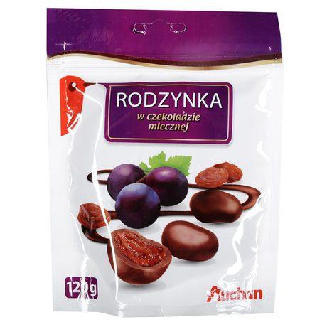 Auchan - Rodzynki w czekoladzie