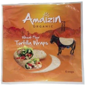 AMAIZIN Tortilla pszenna Bio