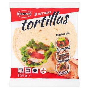 Benus Tortilla Placki Do Napełniania