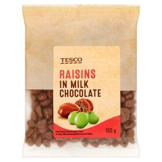 Tesco Rodzynki w czekoladzie mlecznej