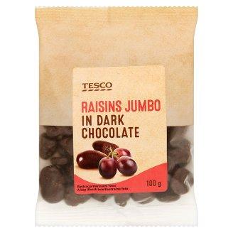 Tesco Rodzynki Jumbo w czekoladzie