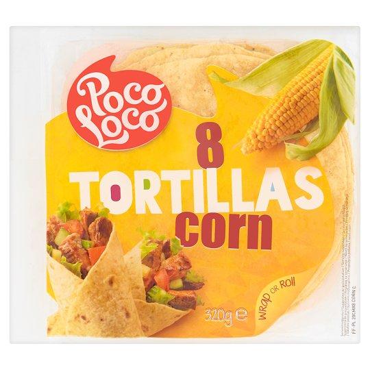 Poco Loco Tortilla kukurydziana