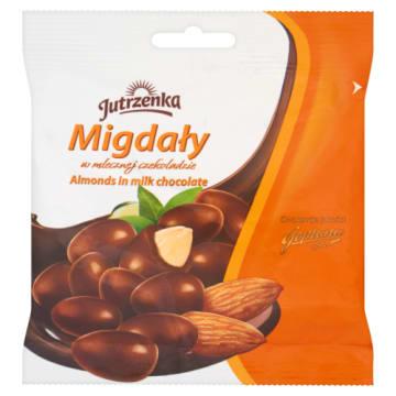 JUTRZENKA Migdały w czekoladzie mlecznej