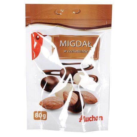 Auchan - Migdały w czekoladzie