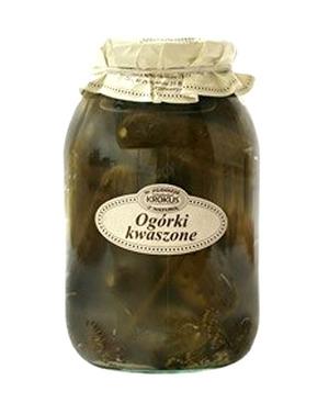 Krokus Ogórki Kiszone