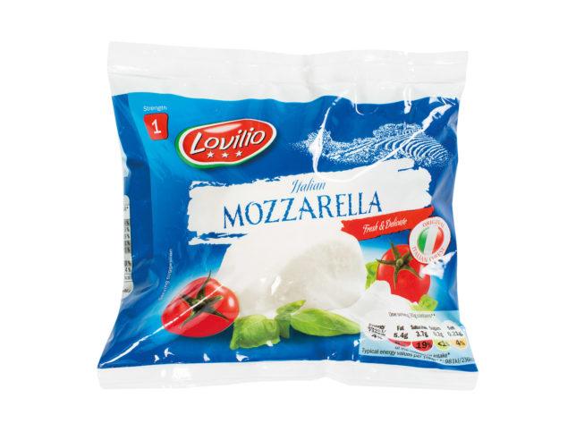 Lovilio Mozzarella Lidl