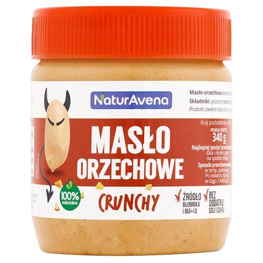 NaturAvena Masło orzechowe crunchy