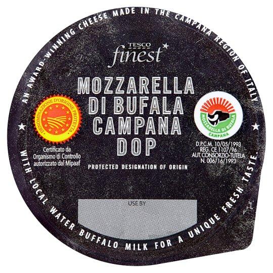 Tesco Finest Mozzarella di Bufala Campana D.O.P. Pełnotłusty miękki ser włoski