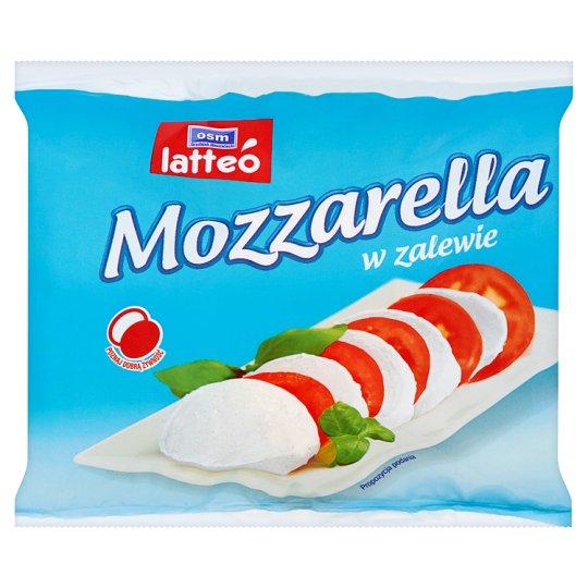 OSM Grodzisk Mazowiecki latteó Mozzarella w zalewie