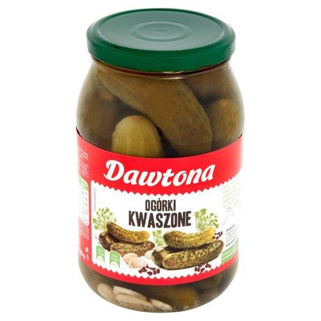 Dawtona - Ogórki kwaszone
