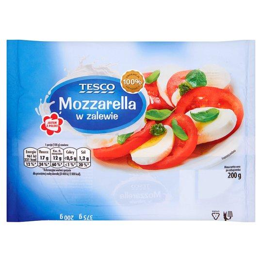 Tesco Mozzarella w zalewie