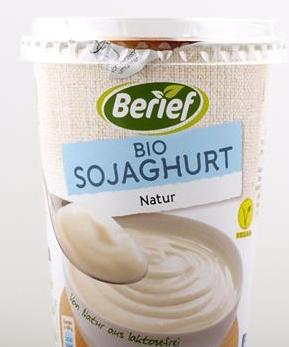 Jogurt sojowy naturalny BIO 500g Berief
