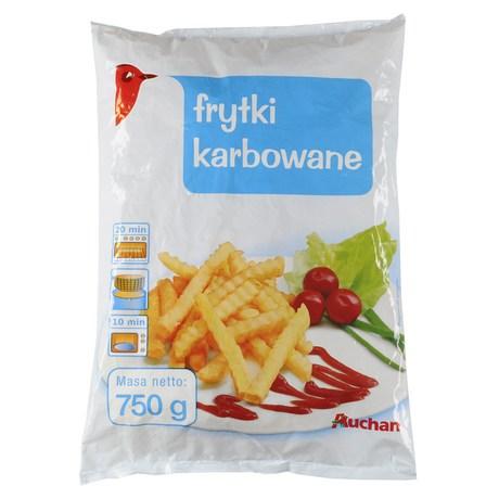 Auchan - Frytki karbowane