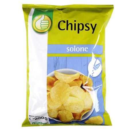 Podniesiony Kciuk - Chipsy solone