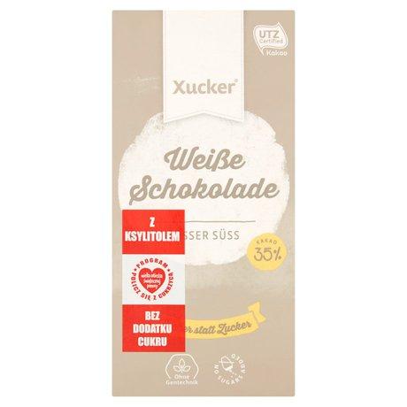 Xucker - Czekolada biała z ksylitolem bez dodatku cukru