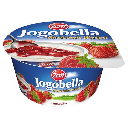 Zott Jogobella Owocowa Wyspa truskawka Deser jogurtowy